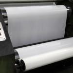 produção bobinas sacolas plásticas, sacos de lixo