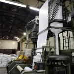 Produção sacos de lixo